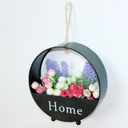 Modern Simple Wall Iron Hanging Flower Basket Living Room Balcony Wall Decorations Newchic